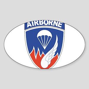 187th Infantry Regimental Combat Patch Sticker