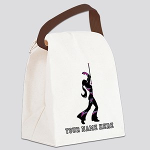 Custom Majorette Canvas Lunch Bag