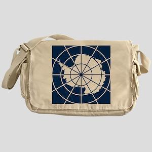 Antarctic emblem Messenger Bag