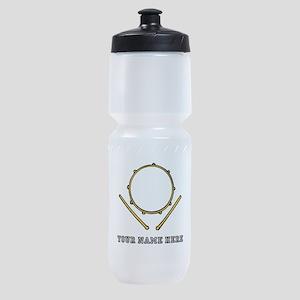 Custom Drum Sports Bottle