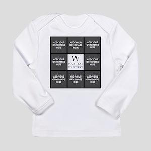 Custom Photo Collage Long Sleeve T-Shirt