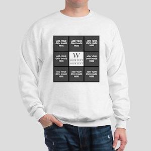 Custom Photo Collage Sweatshirt