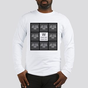 Custom Photo Collage Long Sleeve T-Shirt