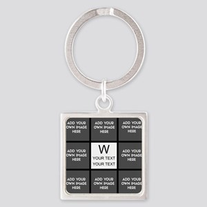 Custom Photo Collage Keychains