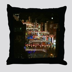 Christmas Lights Pro Photo Throw Pillow