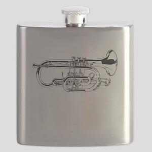 Baritone Horn Flask