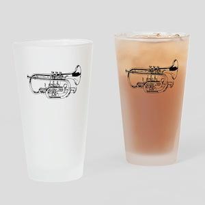 Baritone Horn Drinking Glass