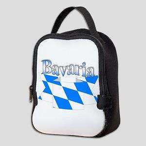 Bavarian ribbon Neoprene Lunch Bag