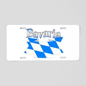 Bavarian ribbon Aluminum License Plate