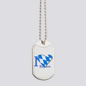 I love Bayern Dog Tags
