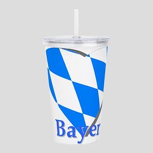 I love Bayern Acrylic Double-wall Tumbler