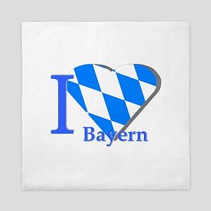 I love Bayern Queen Duvet