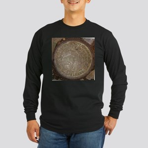 Old New Orleans Meter Lid Long Sleeve T-Shirt