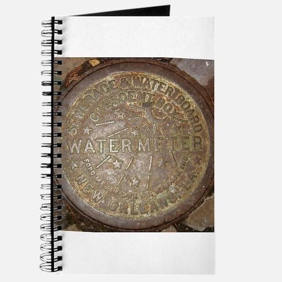 Old New Orleans Meter Lid Journal