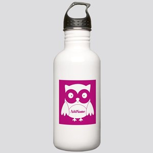 Medium Violet Red Owl Stainless Water Bottle 1.0L