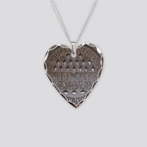 The Other Meter Cover Necklace Heart Charm