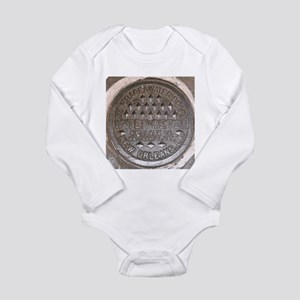 NOLa Water Meter Lid 2 Infant Creeper Body Suit