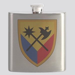 194th Armored Brigade Flask