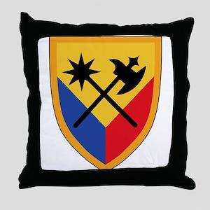 194th Armored Brigade Throw Pillow