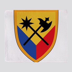 194th Armored Brigade Throw Blanket