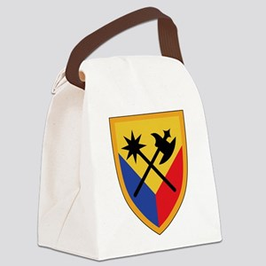194th Armored Brigade Canvas Lunch Bag