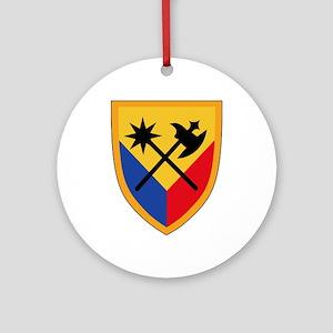 194th Armored Brigade Ornament (Round)