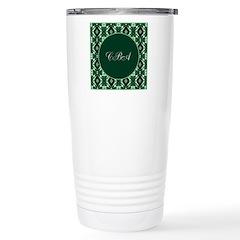 Emerald Isle Monogram Stainless Steel Travel Mug