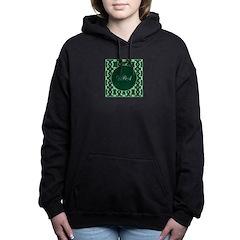 Emerald Isle Monogram Women's Hooded Sweatshirt