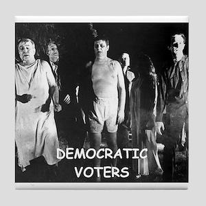 democrats Tile Coaster