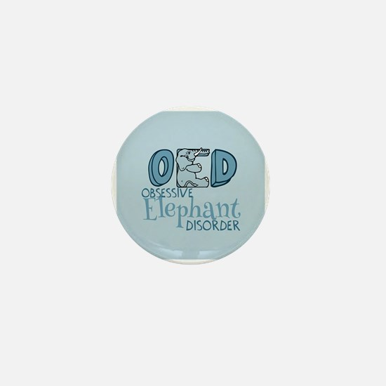 Funny Elephant Mini Button (100 pack)