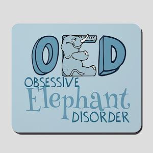 Funny Elephant Mousepad