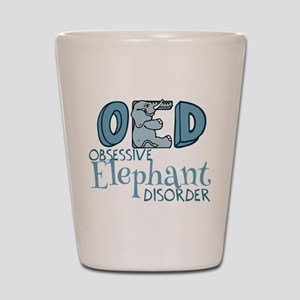 Funny Elephant Shot Glass