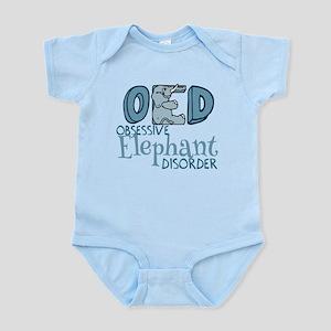 Funny Elephant Infant Bodysuit
