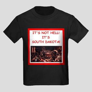south dakota Kids Dark T-Shirt