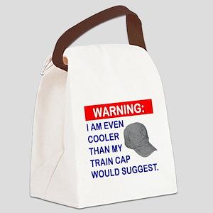 TrainCap Canvas Lunch Bag