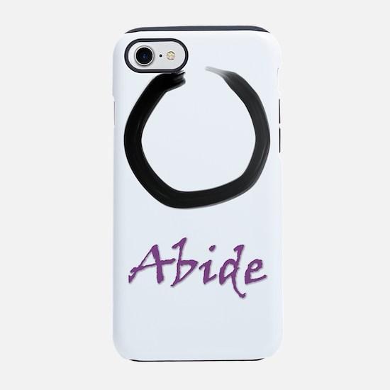 Abide Zen Enso Circle v iPhone 7 Tough Case