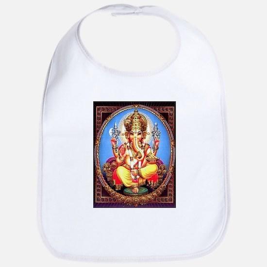 Ganesh / Ganesha Indian Elephant Hindu Deity Bib