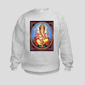 Ganesh / Ganesha Indian Elephant H Kids Sweatshirt