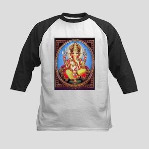 Ganesh / Ganesha Indian Elephant H Baseball Jersey