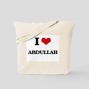 I Love Abdullah Tote Bag