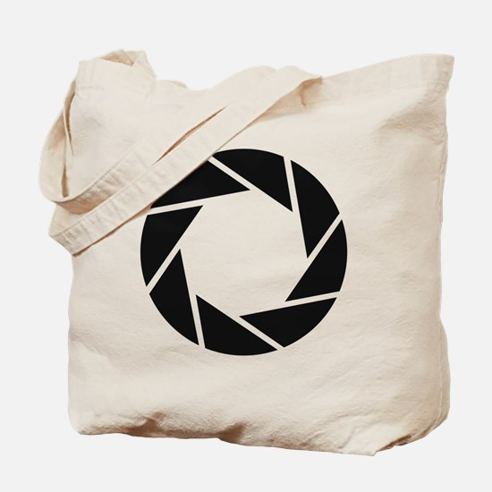 Aperture Science Tote Bag