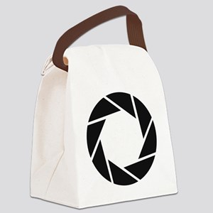 Aperture Science Canvas Lunch Bag