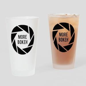 More Bokeh Photographer Drinking Glass