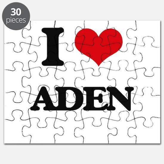 I Love Aden Puzzle