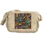Abstract-Believe 1 Messenger Bag