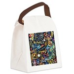 Abstract-Believe 1 Canvas Lunch Bag
