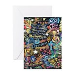 Abstract-Believe 1 Greeting Card