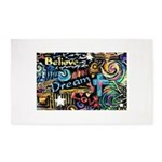 Abstract-Believe 1 Area Rug