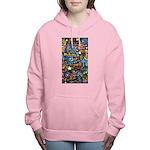 Abstract-Believe 1 Women's Hooded Sweatshirt