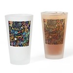 Abstract-Believe 1 Drinking Glass